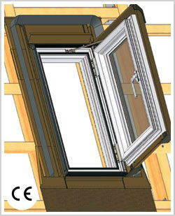 sky dachfenster 55x78 45x73 dachausstieg aussteiger dachluke skylight o velux ebay. Black Bedroom Furniture Sets. Home Design Ideas
