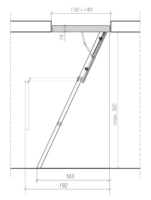 Bodentreppe Stiege Dachbodentreppe Klapptreppe Neu Ebay